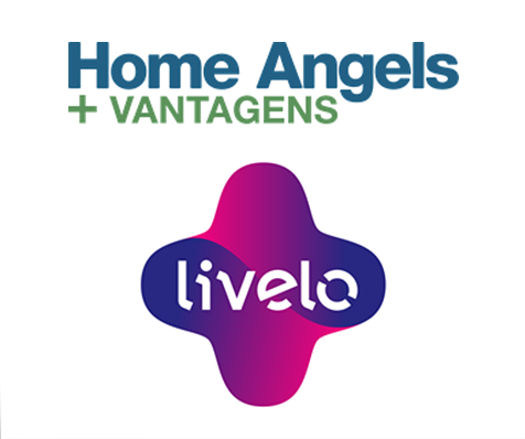 Logo Home Angels e Livelo